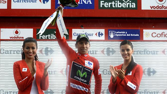 Vuelta a España - Quintana in red despite heroics of stage 9 winner Anacona