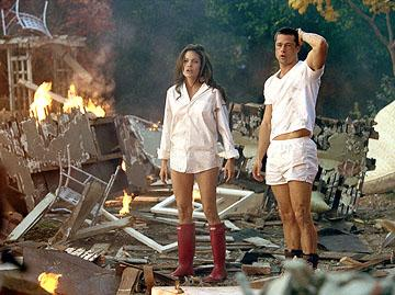 Angelina Jolie and Brad Pitt in 20th Century Fox's Mr. & Mrs. Smith