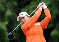 Ryu So-Yeon, pictured in August 2012, marked her links course debut with a two under par 70 to share the lead with fellow South Korean, Haeji Kang, after the first round of the Women's British Open at Royal Liverpool Golf Club