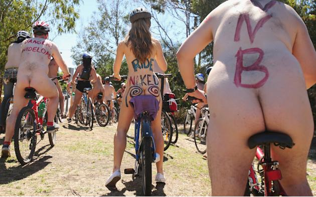 World Naked Bike Ride Melbourne