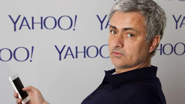World Cup - Jose Mourinho signs for Yahoo