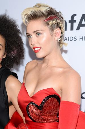 Miley Cyrus attends the 6th Annual amfAR New York Inspiration …