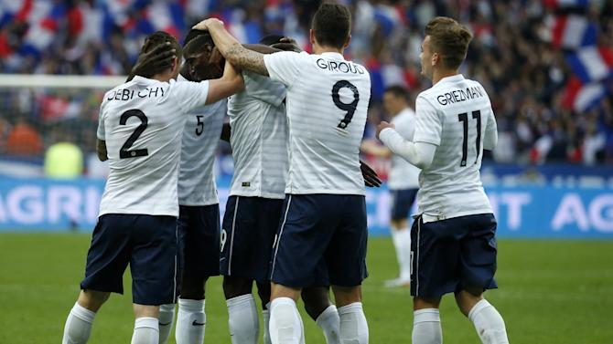 International friendlies - France enjoy easy win against Norway