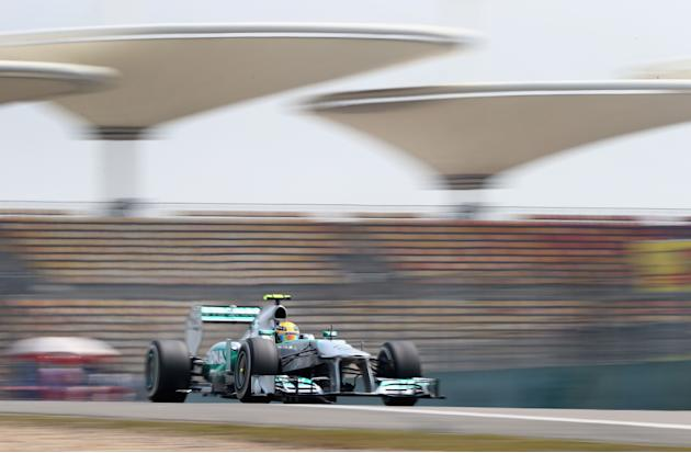 F1 Grand Prix of China - Practice
