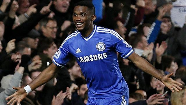 World Cup - Eto'o's move to Chelsea delights Cameroon coach