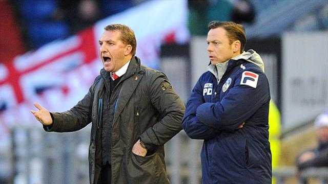 FA Cup - Rodgers: Young players let Liverpool down