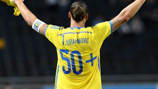 Euro 2016 - Zlatan injury clouds Sweden's Euro horizon