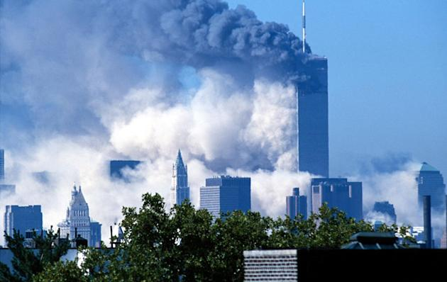 World Trade Center Terrorist Attack - Twin Towers Collapse Sequence