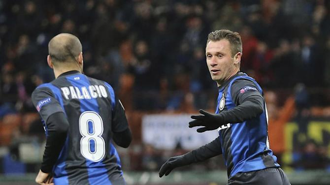 Cassano adds to Inter woes
