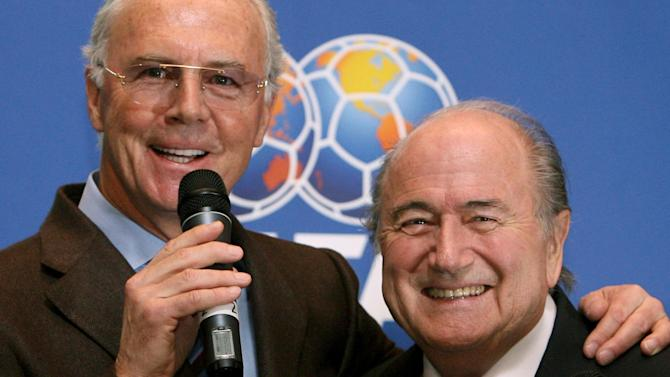 World Cup - FIFA ban Beckenbauer from all football for 90 days