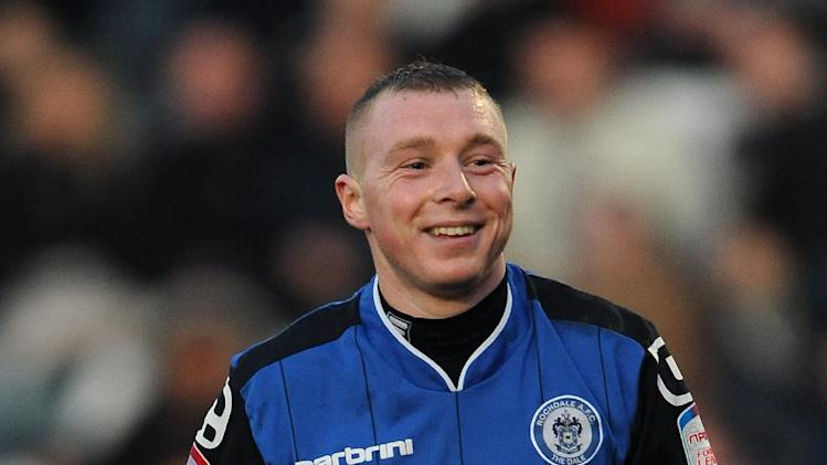 Nicky Adams (pictured) has left Rochdale for Crawley