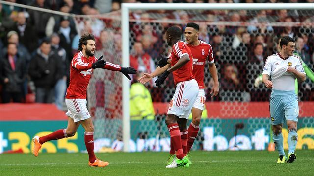 FA Cup - West Ham put to the sword as five-star Forest claim cup shock