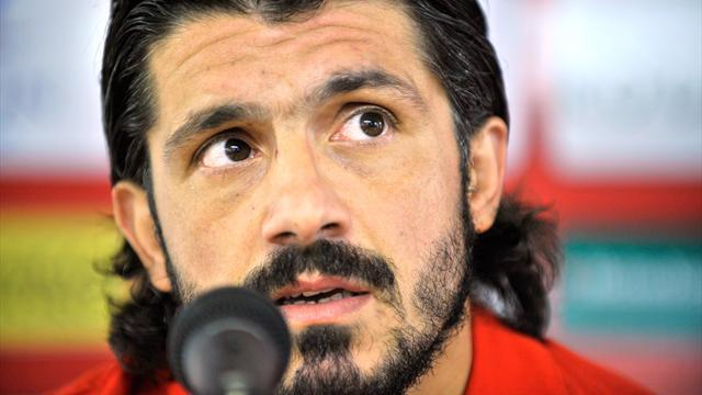 Serie A - Gattuso to coach relegated Palermo next season