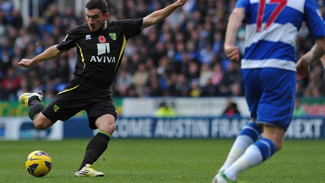 Premier League - Reading remain winless after Norwich stalemate