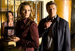 Stana Katic and Nathan Fillion | Photo Credits: Michael Desmond/ABC