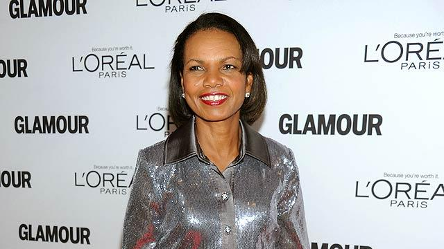 Condolezza Rice Glamour Women Of The Year Awards