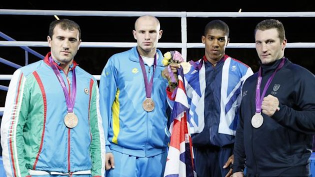London 2012 Cammarelle - AFP