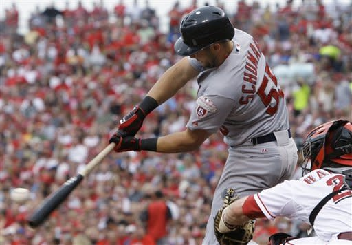 Reds rally in 7th, beat Cardinals 5-3