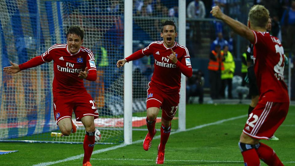 Bundesliga Play-offs - Hamburg dramatically beat Karlsruhe in promotion/relegation play-off