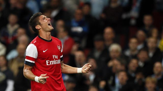 Premier League - Giroud: My Arsenal start compares well with RVP