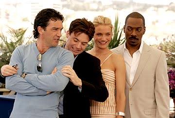 Antonio Banderas, Mike Myers, Cameron Diaz and Eddie Murphy Shrek 2 Cannes Film Festival - 5/15/2004