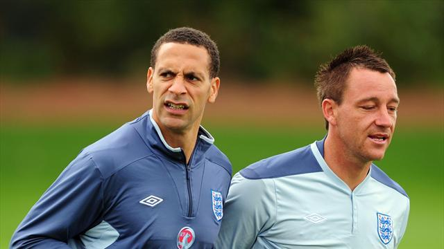 Football - 'Gutted' Rio out of England squad