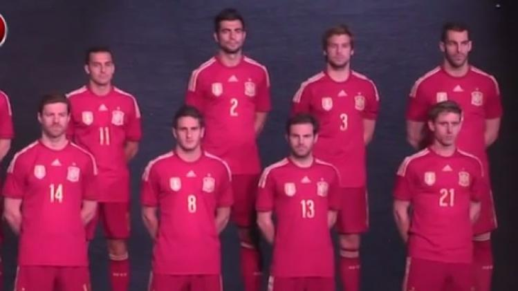Spain and Germany mix it up with World Cup 2014 kits