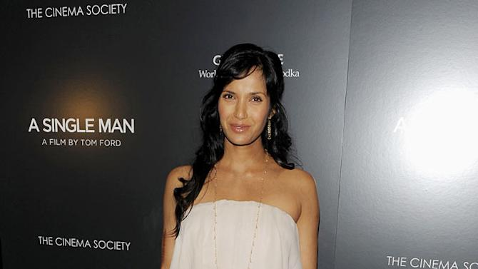 """Padma Lakshmi attends a special screening of """"A Single Man"""" hosted by The Cinema Society and Bing at MOMA on December 6, 2009 in New York City."""