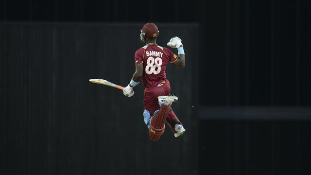 Cricket - Sammy leads from front as West Indies clinch T20 series