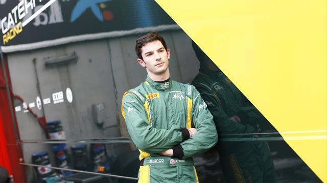 GP2 - Rossi leads GP2 test for Caterham