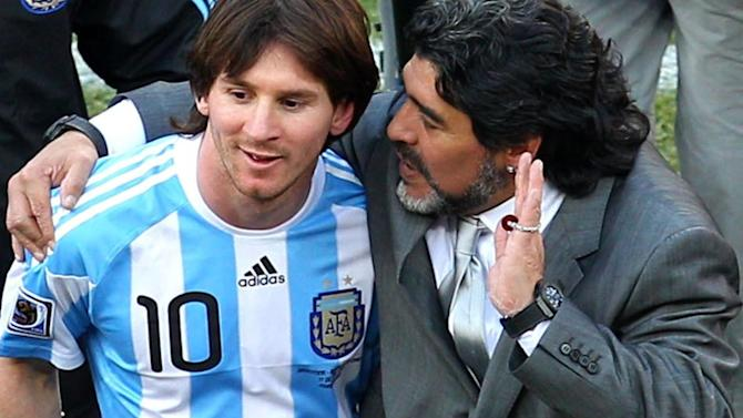 World Cup - Blatter 'surprised' by Messi award, Maradona labels decision 'unfair'
