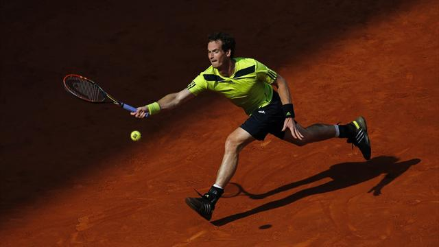 Tennis - Murray bows out in Madrid, rusty Nadal through