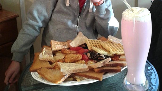 A Restaurant in England Is Serving This Breakfast That Contains 8,000 Calories