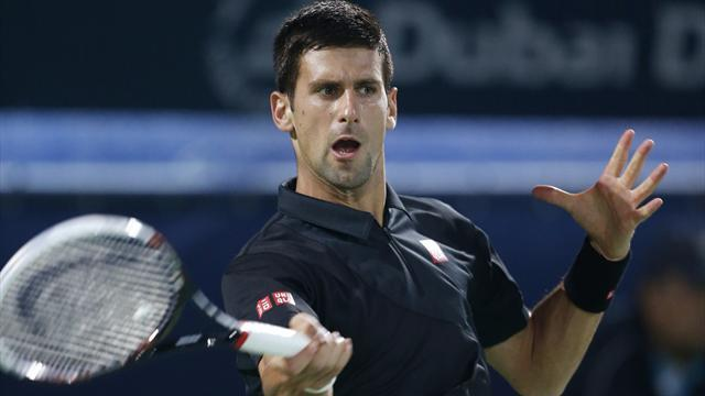 Tennis - Djokovic outburst overshadows victory in Miami