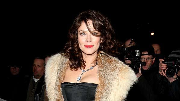 Anna Friel attends Finch & Partners' Pre-BAFTA Party at Annabel's on February 7, 2009 in London, England.