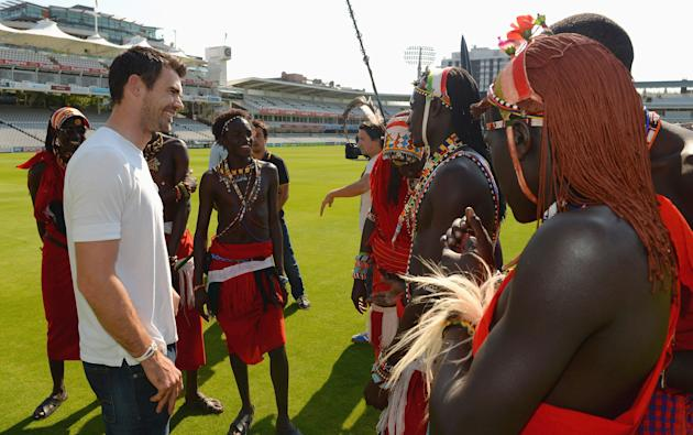 Maasai Warriors at Lord's