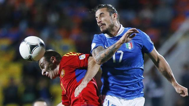 Italy struggle to beat Armenia, Bulgaria draw with Denmark
