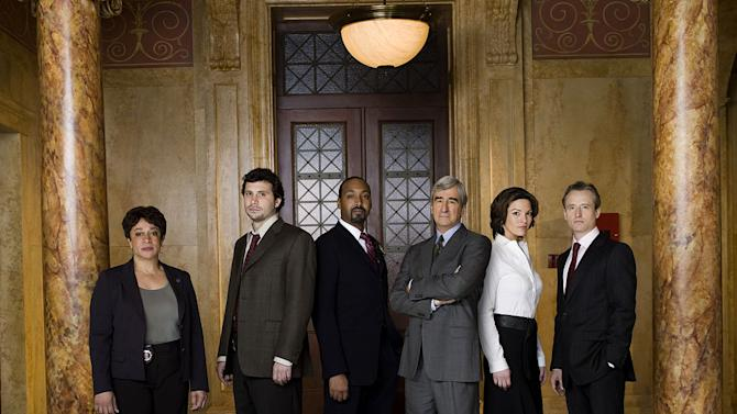 """The cast of """"Law & Order."""""""