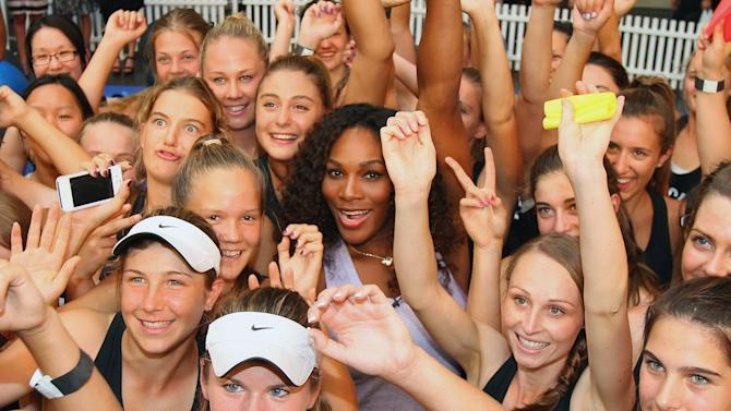 Serena Williams Launches Mobile Ap Workout