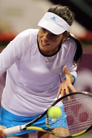 Ivanovic advances to 2nd round in Qatar Open