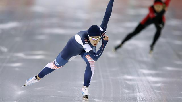 Speed Skating - Injured Lee takes gold to leave Sochi sobbing