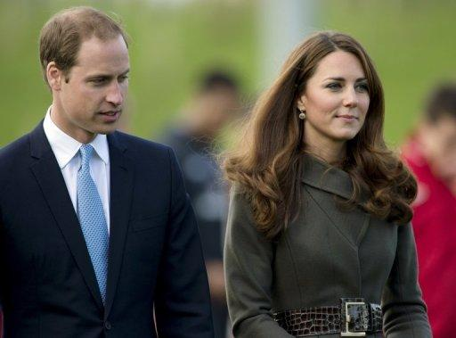 Prince William's wife Catherine spent the night in hospital where she is being treated for acute morning sickness following the announcement that the couple, pictured together in October, are expecting their first child.