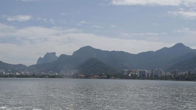 Pictures: Rio's Olympic rowing lake filled with 65 tonnes of dead fish