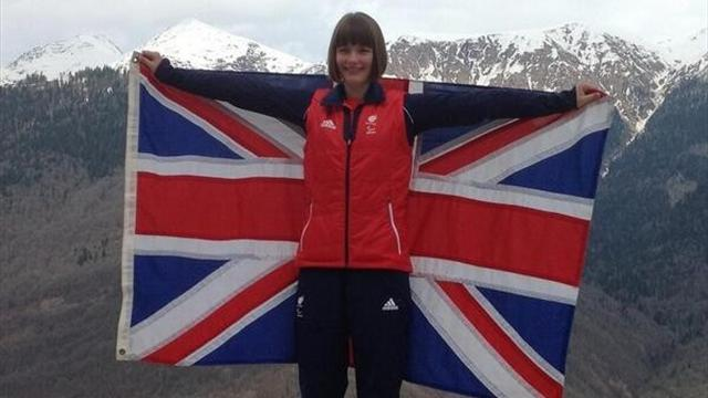 Sochi 2014 - Britain pick 15-year-old Knight as Paralympics flagbearer