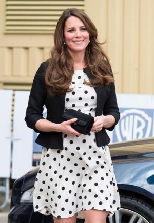 Kate Middleton Recycles Polka Dot Topshop Dress for Friends' Wedding