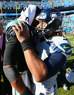 Mobile QBs like Cam Newton and Russell Wilson didn't gain much traction in Week 9 (Getty)