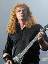 Mustaine risked paralysis at Big Four show