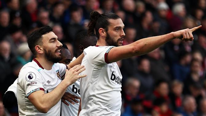 West Ham have turned down three bids from China for striker Andy Carroll