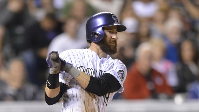 Lyles' pitching, Morneau's HR key Rockies' win