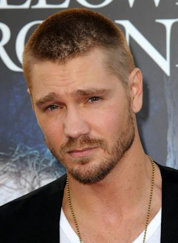 Chad Michael Murray arrives for Universal Studios Hollywood 'Halloween Horror Night' and Eye Gore Awards Kick Off Party held at Universal Studios Hollywood in Universal City, Calif. on September 21, 2012 -- Getty Premium